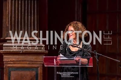 Photo by Tony Powell. 2016 PEN Faulkner Award Dinner. Folger Shakespeare Library. May 14, 2016