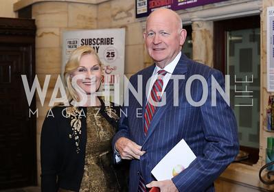 Susan and Michael Pillsbury. Photo by Tony Powell. 2016 Pen Faulkner Gala. September 26, 2016