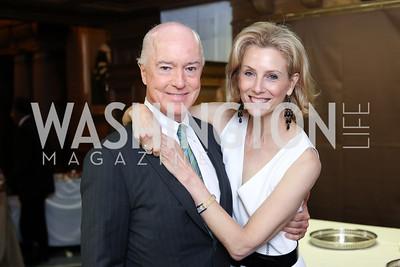 David and Katherine Bradley. Photo by Tony Powell. 2016 Pen Faulkner Gala. September 26, 2016