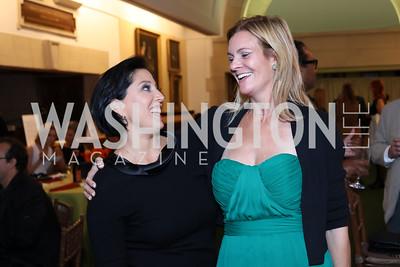 Jessica Springsteen, Katharine Weymouth. Photo by Tony Powell. 2016 Pen Faulkner Gala. September 26, 2016