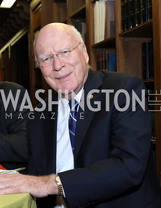 Sen. Patrick Leahy. Photo by Tony Powell. 2016 Pen Faulkner Gala. September 26, 2016