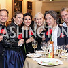 James Alefantis, Pilar O'Leary, Jessica Springsteen, Willee Lewis, Septime Webre, Marc Cipullo. Photo by Tony Powell. 2016 Pen Faulkner Gala. September 26, 2016