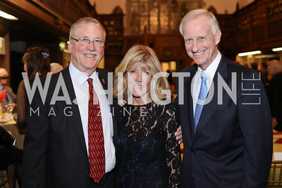 Frazier O'Leary, Ginny Grenham, Jack Evans. Photo by Tony Powell. 2016 Pen Faulkner Gala. September 26, 2016