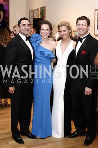 Bob Ghafouri and Julia Ehrgood Ghafouri, Erin and Matt Ritz. Photo by Tony Powell. 2016 Phillip's Collection Gala. May 13, 2016