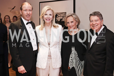 Sen. Tom Udall, Jane Cafritz, Jill Udall, Calvin Cafritz. Photo by Tony Powell. 2016 Phillip's Collection Gala. May 13, 2016