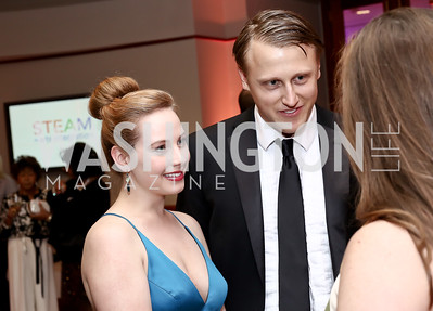 Rep. Doug Collins' Director of Comm. Katy Summerlin, Daniel Lippman. Photo by Tony Powell. 2016 Phillip's Collection Gala. May 13, 2016