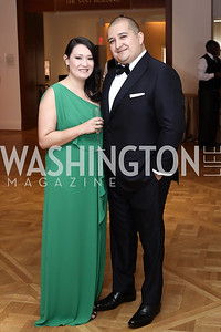 Tatiana Herrera, Carlos Merizalde. Photo by Tony Powell. 2016 Phillip's Collection Gala. May 13, 2016
