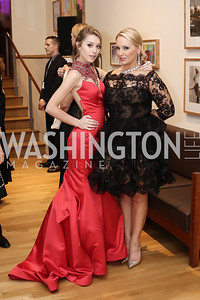 Rachel Starr, Stephanie Fischer. Photo by Tony Powell. 2016 Phillip's Collection Gala. May 13, 2016