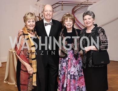 Lynne Horning, Joe Horning, Bitsey Folger. Washington School for Girls Executive Director Sister Mary Bourdon. Photo by Tony Powell. 2016 Phillip's Collection Gala. May 13, 2016