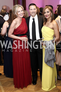 Mariella Trager, Jack Pearlstein and Marisol Lamadrid Pearlstein. Photo by Tony Powell. 2016 Phillip's Collection Gala. May 13, 2016
