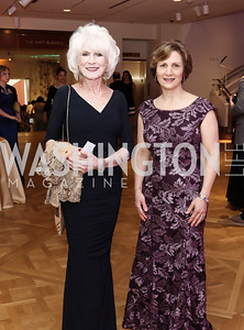 Diane Rehm, Rep. Suzanne Bonamici. Photo by Tony Powell. 2016 Phillip's Collection Gala. May 13, 2016