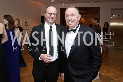 John Roberts and Michael Kaiser. Photo by Tony Powell. 2016 Phillip's Collection Gala. May 13, 2016