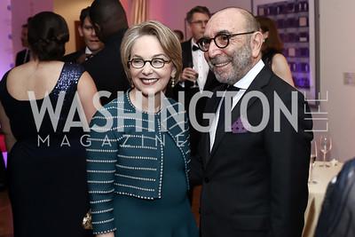 Mirella and Dani Levinas. Photo by Tony Powell. 2016 Phillip's Collection Gala. May 13, 2016