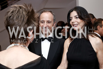 Italy Amb. Armando Varricchio and Micaela Varricchio. Photo by Tony Powell. 2016 Phillip's Collection Gala. May 13, 2016
