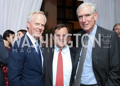 Tim McBride, John Schmitz, C. Boyden Gray. Photo by Tony Powell. 2016 Points of Light Tribute Awards. Residence of Germany. October 20, 2016