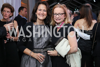 Anita McBride, Debbie Dunn. Photo by Tony Powell. 2016 Points of Light Tribute Awards. Residence of Germany. October 20, 2016