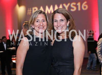 Mieka Wick, Erin Galper. Photo by Tony Powell. 2016 RAMMY Awards. Convention Center. June 12, 2016