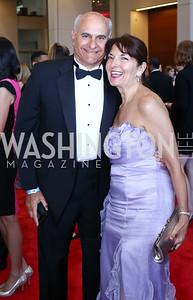 Jonathan Kahan and Linda Roth. Photo by Tony Powell. 2016 RAMMY Awards. Convention Center. June 12, 2016