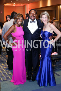 Markette Sheppard, Leon Harris, Holly Morris. Photo by Tony Powell. 2016 RAMMY Awards. Convention Center. June 12, 2016