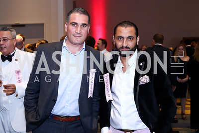 Marcel's Adnane Kebaier, Moez Ben Achour. Photo by Tony Powell. 2016 RAMMY Awards. Convention Center. June 12, 2016