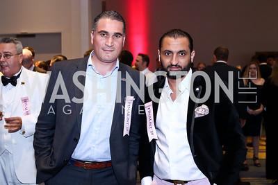 Marcel's Adnane Kebaier, Moez Ben Achour. Photo by Tony Powell. 2016 RAMMY Awards. Convention Center. June 12, 2016