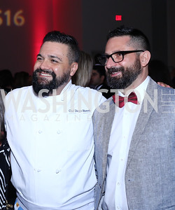 Chef Diego Biondi, Danilo Giraudo. Photo by Tony Powell. 2016 RAMMY Awards. Convention Center. June 12, 2016