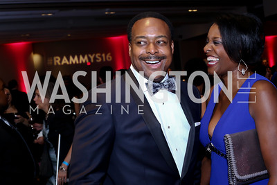 Leon and Dawn Harris. Photo by Tony Powell. 2016 RAMMY Awards. Convention Center. June 12, 2016