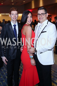 Jason Crighton, Ryann Deering, Erik Segelbaum. Photo by Tony Powell. 2016 RAMMY Awards. Convention Center. June 12, 2016