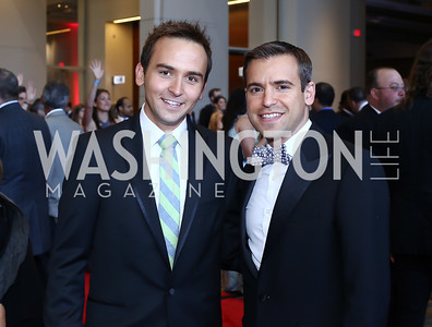 Tommy McFly and Chris Kefalas. Photo by Tony Powell. 2016 RAMMY Awards. Convention Center. June 12, 2016
