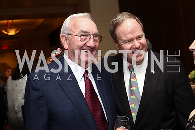 Ronald Griffith, Joe Reeder. Photo by Tony Powell. 2016 SEED Kurdistan Gala. Mandarin Oriental. May 19, 2016