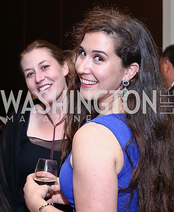 Logan Coleman, Erin Dinan. Photo by Tony Powell. 2016 SEED Kurdistan Gala. Mandarin Oriental. May 19, 2016