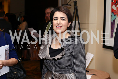 Kurdistan Amb. Bayan Sami Abdul Rahman. Photo by Tony Powell. 2016 SEED Kurdistan Gala. Mandarin Oriental. May 19, 2016