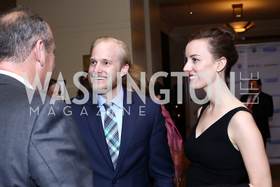 Ryan and Jenn Miller. Photo by Tony Powell. 2016 SEED Kurdistan Gala. Mandarin Oriental. May 19, 2016