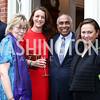 Debbie Driesman, Nina Weir, Frank Islam, Lizette Corro. Photo by Tony Powell. 2016 S&R Washington Awards Gala. Evermay. June 4, 2016