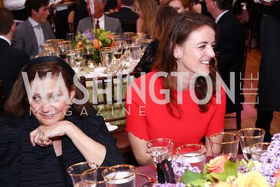 Lizette Corro, Nina Weir. Photo by Tony Powell. 2016 S&R Washington Awards Gala. Evermay. June 4, 2016