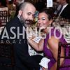 David Ostroff and Sara Jaffe. Photo by Tony Powell. 2016 S&R Washington Awards Gala. Evermay. June 4, 2016