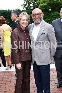 Mirella Levinas, Dani Levinas. Photo by Tony Powell. 2016 S&R Washington Awards Gala. Evermay. June 4, 2016