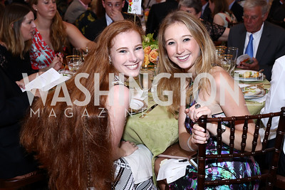 Margaret Anne Collins, Maggie Thompson. Photo by Tony Powell. 2016 S&R Washington Awards Gala. Evermay. June 4, 2016