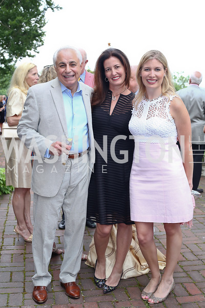 Charles Azarpour, Diane Ray Brown, Lauren Strickler. Photo by Tony Powell. 2016 S&R Washington Awards Gala. Evermay. June 4, 2016