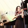 Violinist Luosha Fang. Photo by Tony Powell. 2016 S&R Washington Awards Gala. Evermay. June 4, 2016