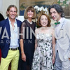 Marc Cipullo, Tammie Collins, Sachiko Kuno, Septime Webre. Photo by Tony Powell. 2016 S&R Washington Awards Gala. Evermay. June 4, 2016