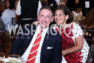 Steven and Nancy Smith. Photo by Tony Powell. 2016 S&R Washington Awards Gala. Evermay. June 4, 2016