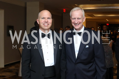 David Catania, Jack Evans. Photo by Tony Powell. 2016 Sibley Hospital Gala. October 29, 2016