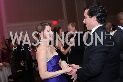 Maisie and Austin Branson. Photo by Tony Powell. 2016 Sibley Hospital Gala. October 29, 2016