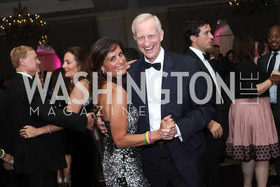 Niloofar Razi Howe, Jack Evans. Photo by Tony Powell. 2016 Sibley Hospital Gala. October 29, 2016