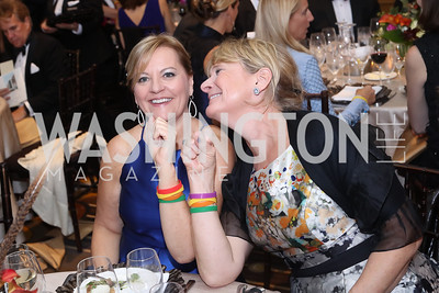 Carol Shannon, Laurie Farr. Photo by Tony Powell. 2016 Sibley Hospital Gala. October 29, 2016