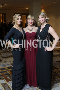 Elisabeth Tamasi, Becky Carson, Jennifer Holt. Photo by Tony Powell. 2016 Sibley Hospital Gala. October 29, 2016