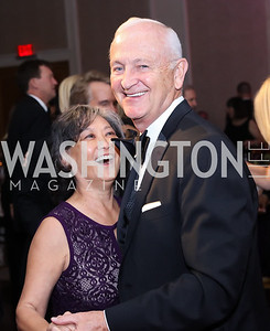 Janet and Robert Sloan. Photo by Tony Powell. 2016 Sibley Hospital Gala. October 29, 2016