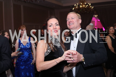Maureen and Jeff Elting. Photo by Tony Powell. 2016 Sibley Hospital Gala. October 29, 2016