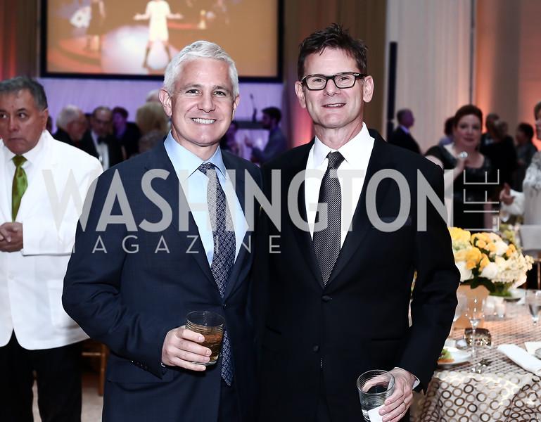Patrick Steele, Michael DeSantis. Photo by Tony Powell. 2016 Signature Theatre Sondheim Award. Italian Embassy. March 4, 2016